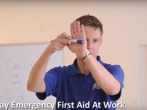 1 day Emergency First Aid at Work Training