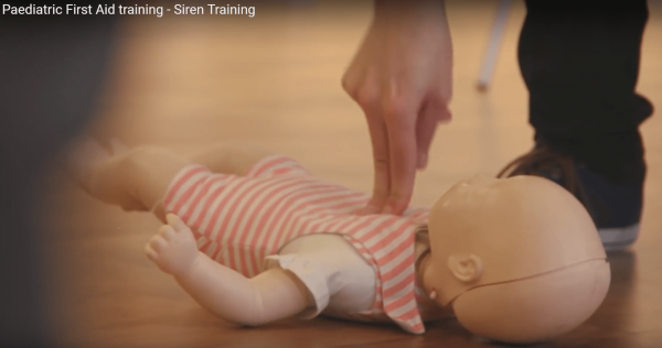 paediatric first aid for childminders